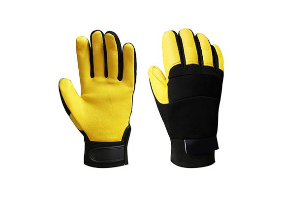 Deerskin Safety Work Gloves/BLG-02