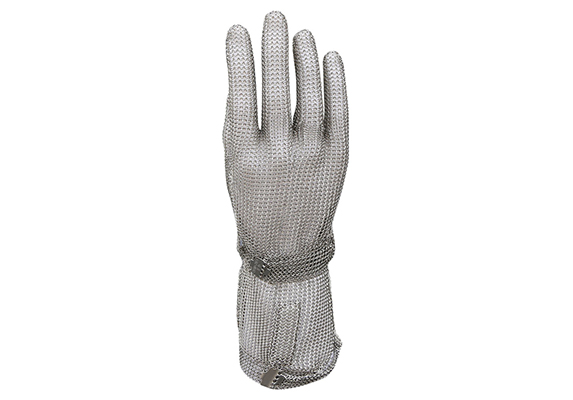 Stainless Steel Mesh Safety Work Gloves with Long Cuff/SMG-005