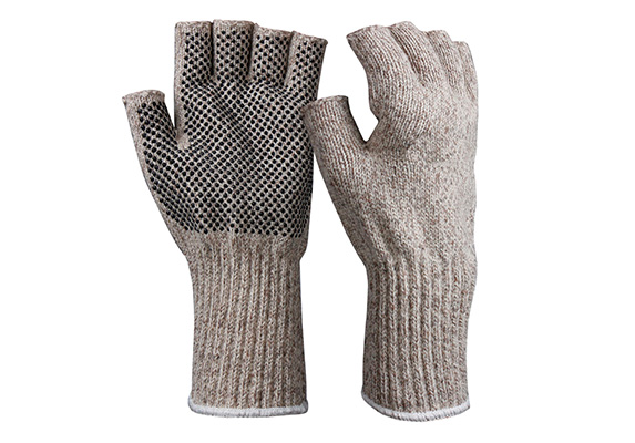 String Knit Safety Work Gloves/IWG-016