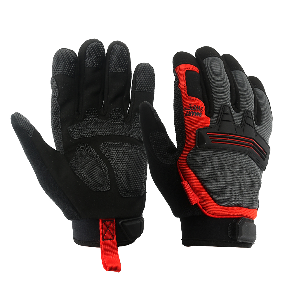 Touch Screen Mechanic Safety Work Gloves/MSG-013