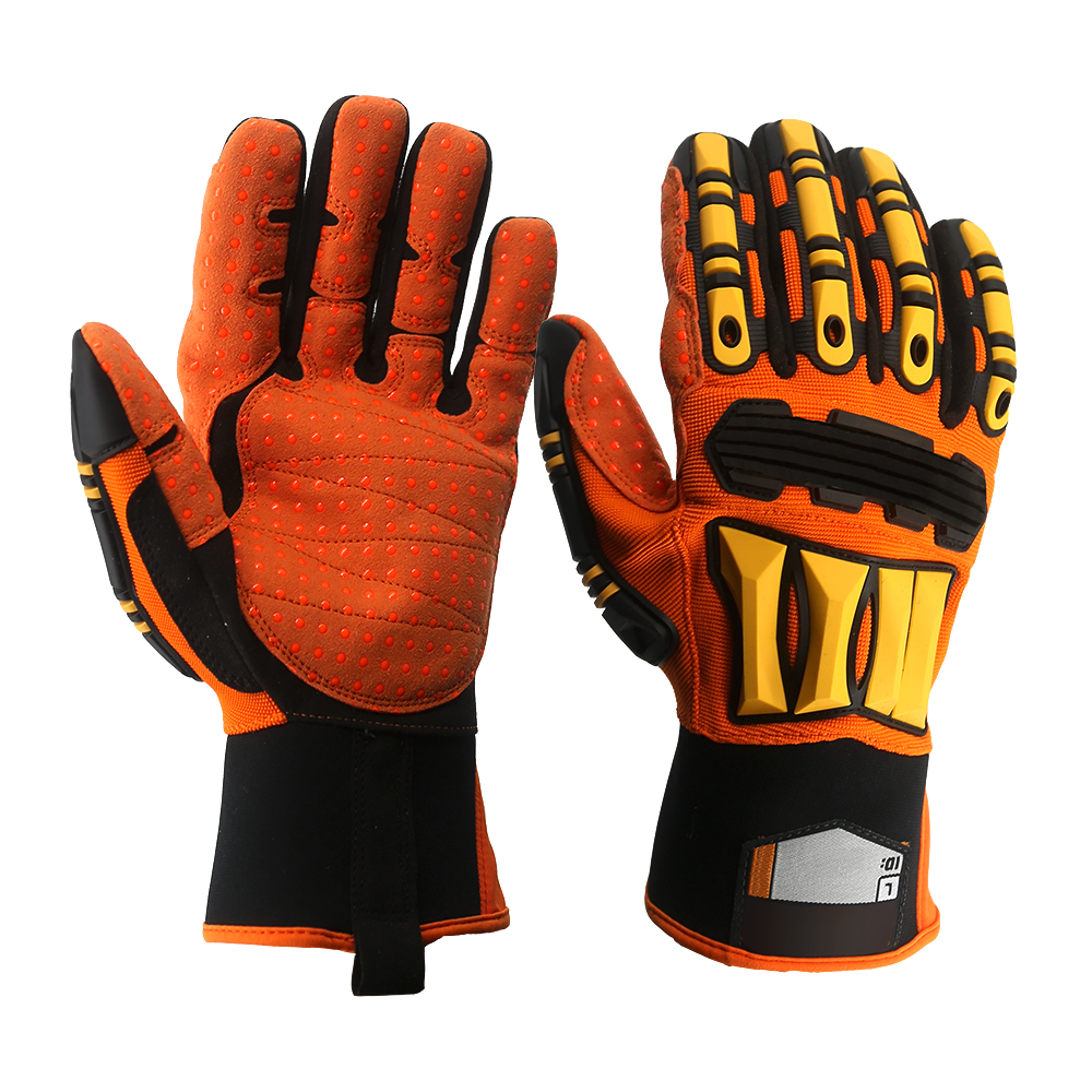 TPR Mechanics Safety Work Gloves/MSG-016
