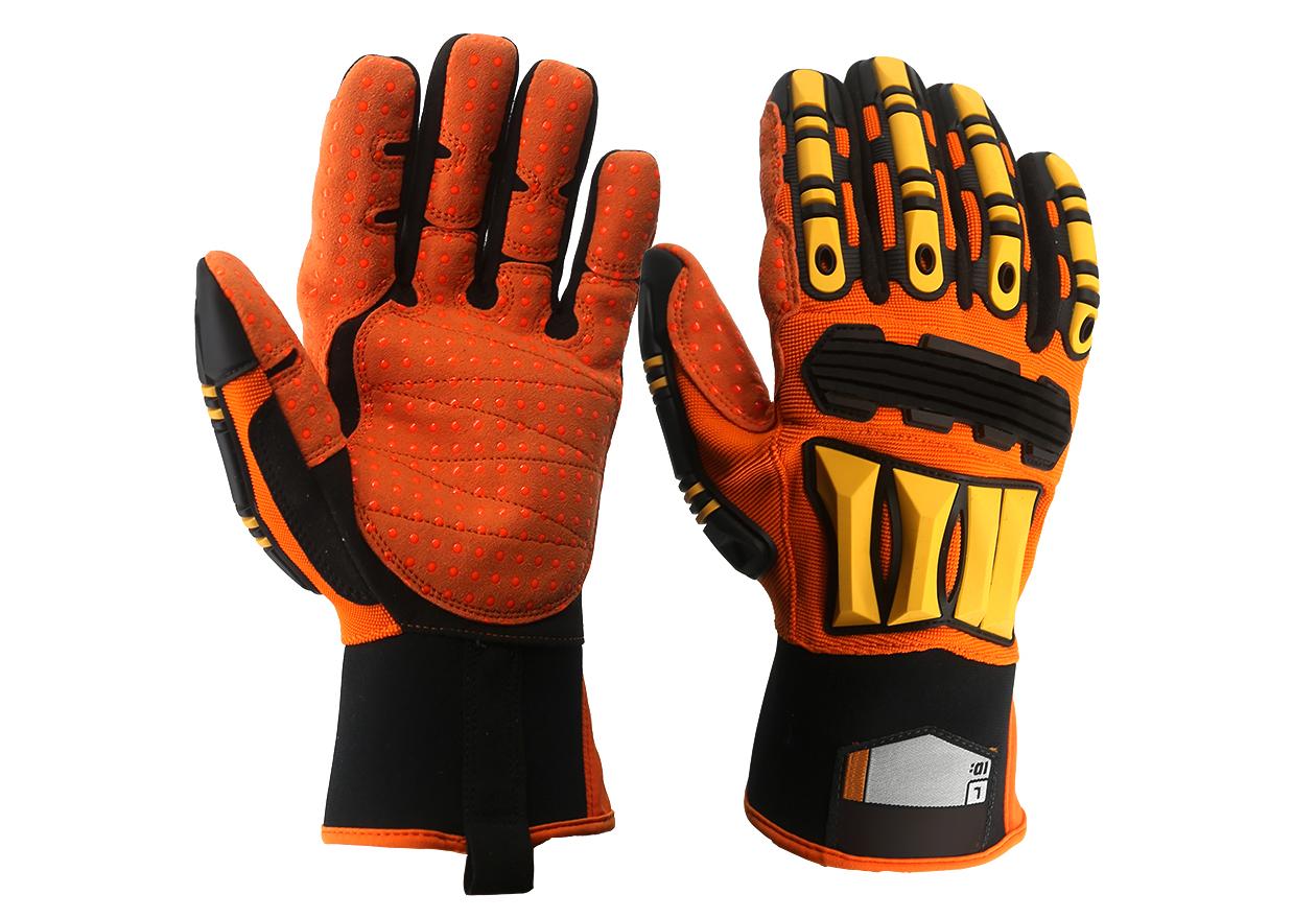 TPR Mechanics Safety Work Gloves/MSG-016