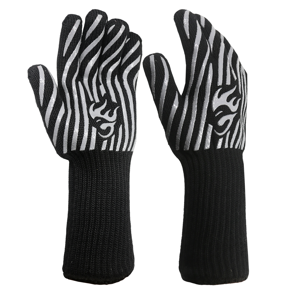 Long Cuff Heat Resistant Safety Gloves/HRG-18