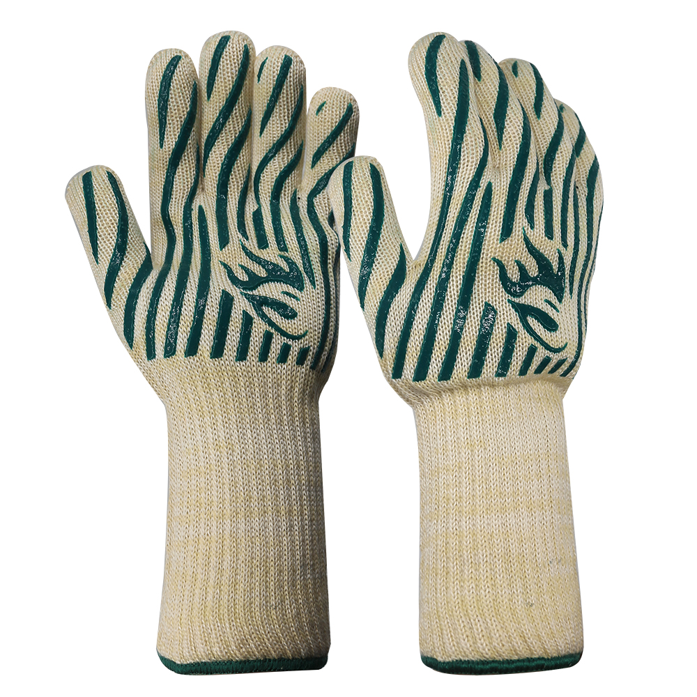 Long Cuff Heat Resistant Safety Gloves/HRG-20