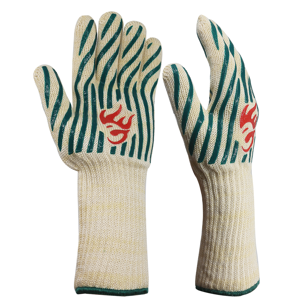 Long Cuff Heat Resistant Safety Gloves/HRG-21