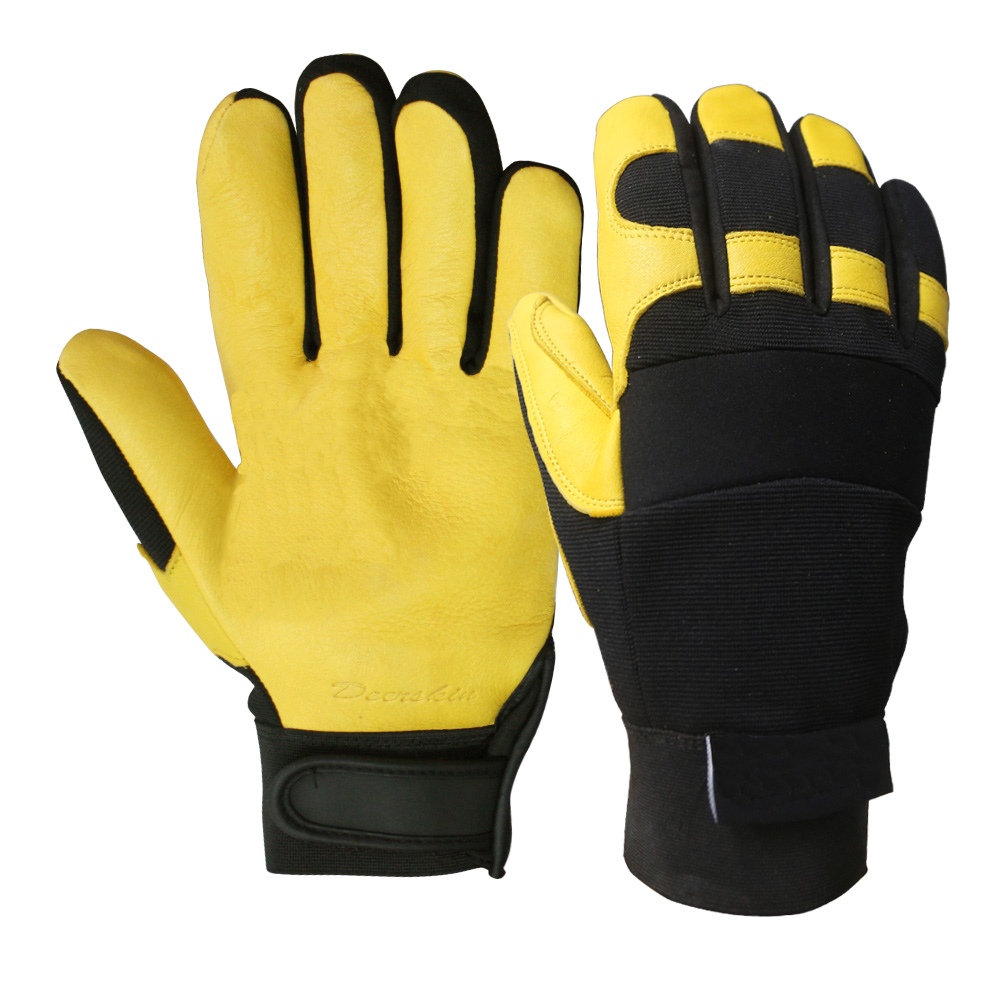 Deerskin Safety Work Gloves/BLG-02
