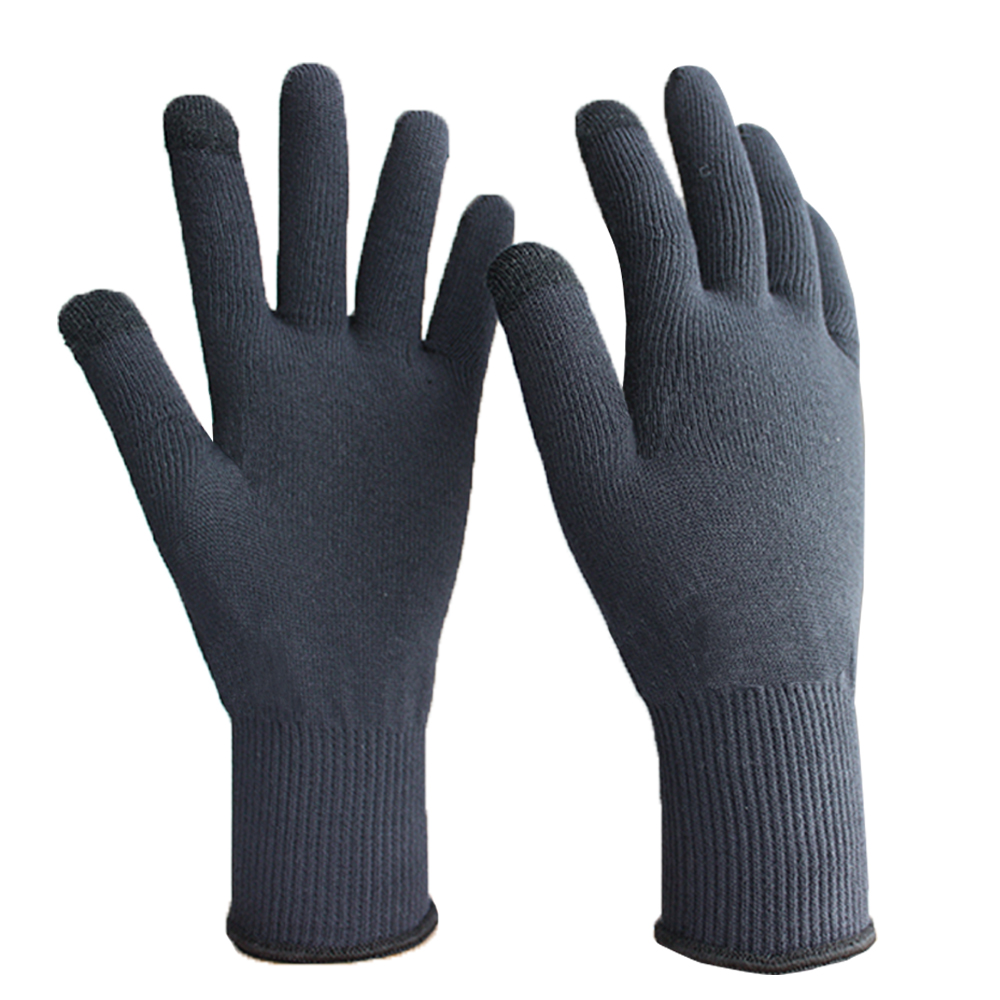 Merino Wool Yarn Touch Screen Glove 13G/MWG-001