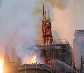 The Fire Of Notre Dame de Paris Shocked The World