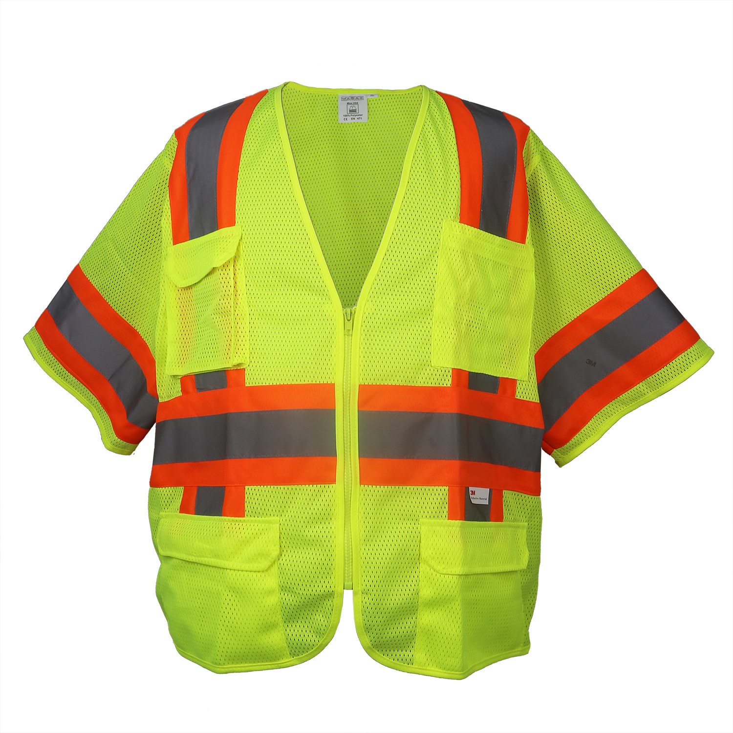 High-Visibility Class 3 Vest/#9021