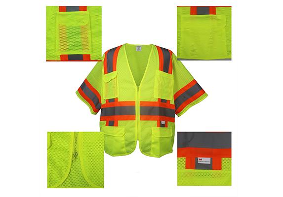 High-Visibility Class 3 Vest/#9021