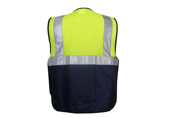 Navy Botton Vest/#9017