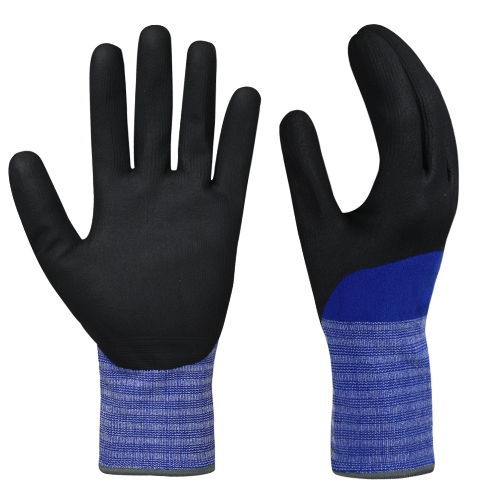 Nitrile Coated Polyester Gloves/NCG-013