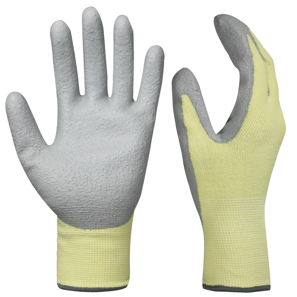 PU Dipped Safety Work Gloves/PCG-008