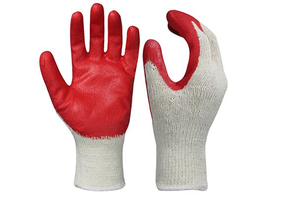 Latex Coated Acrylic Safety Work Gloves/LCG-14