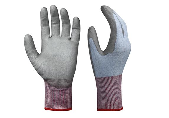 PU Coated Cut Resistant Gloves/CRG-007