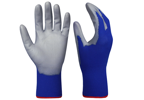 PU Dipped Safety Work Glove/PCG-005
