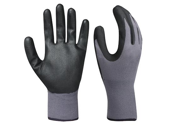 Nitrile Coated Safety Work Gloves/NCG-020