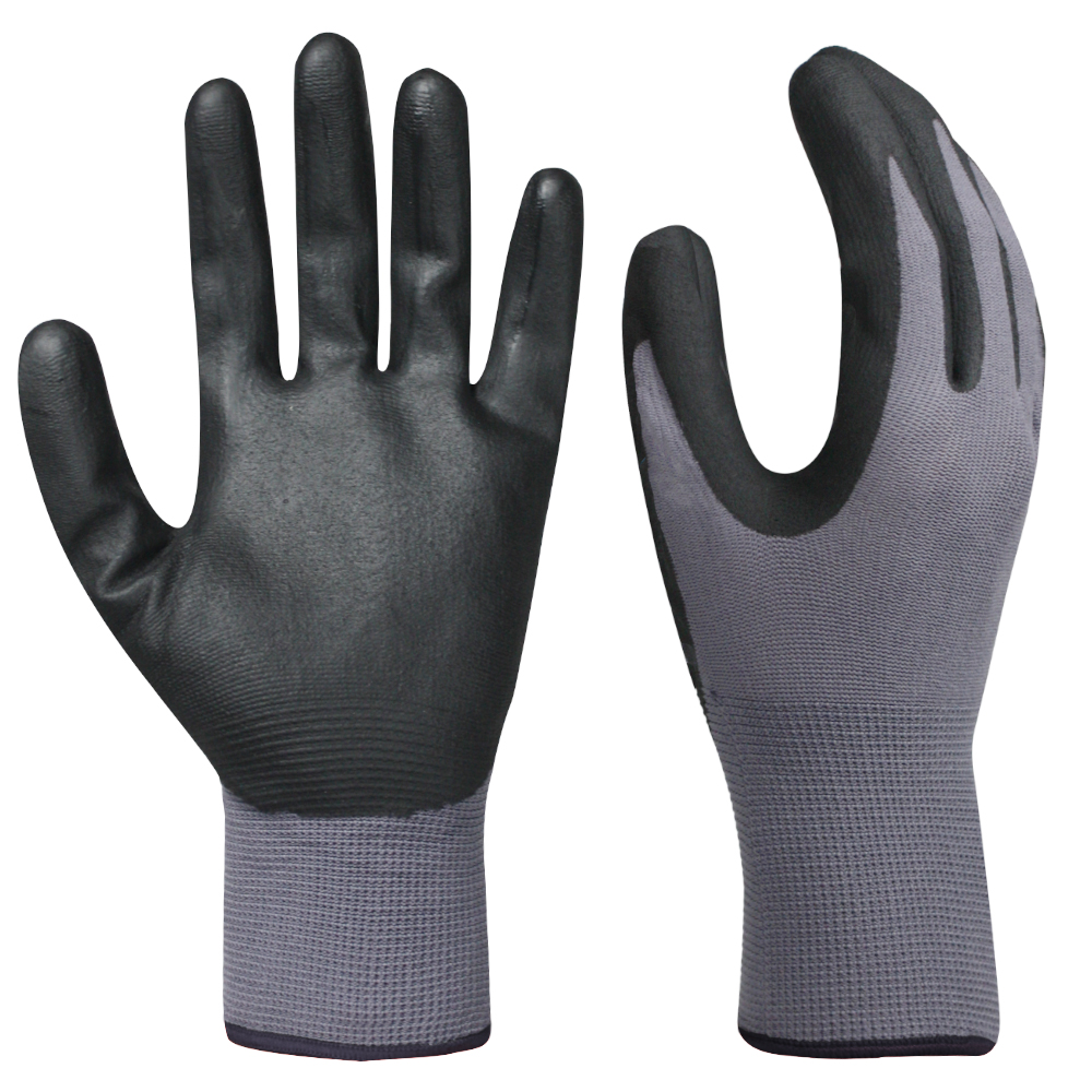 Nitrile Coated Safety Work Gloves/NCG-020