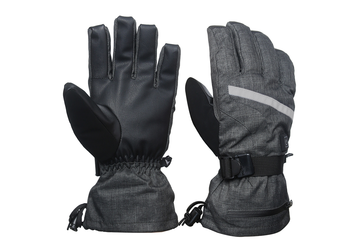 Electric Heated Gloves with Rechargeable Battery Temperature Control