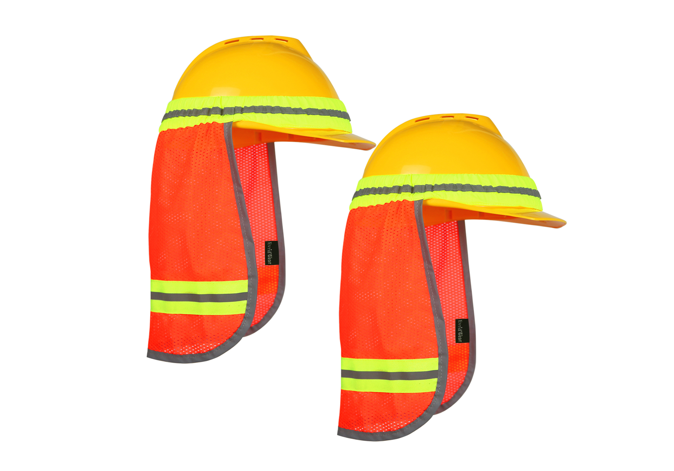 High Visibility Neck Sun Shield with Reflective Stripe/NSS-001