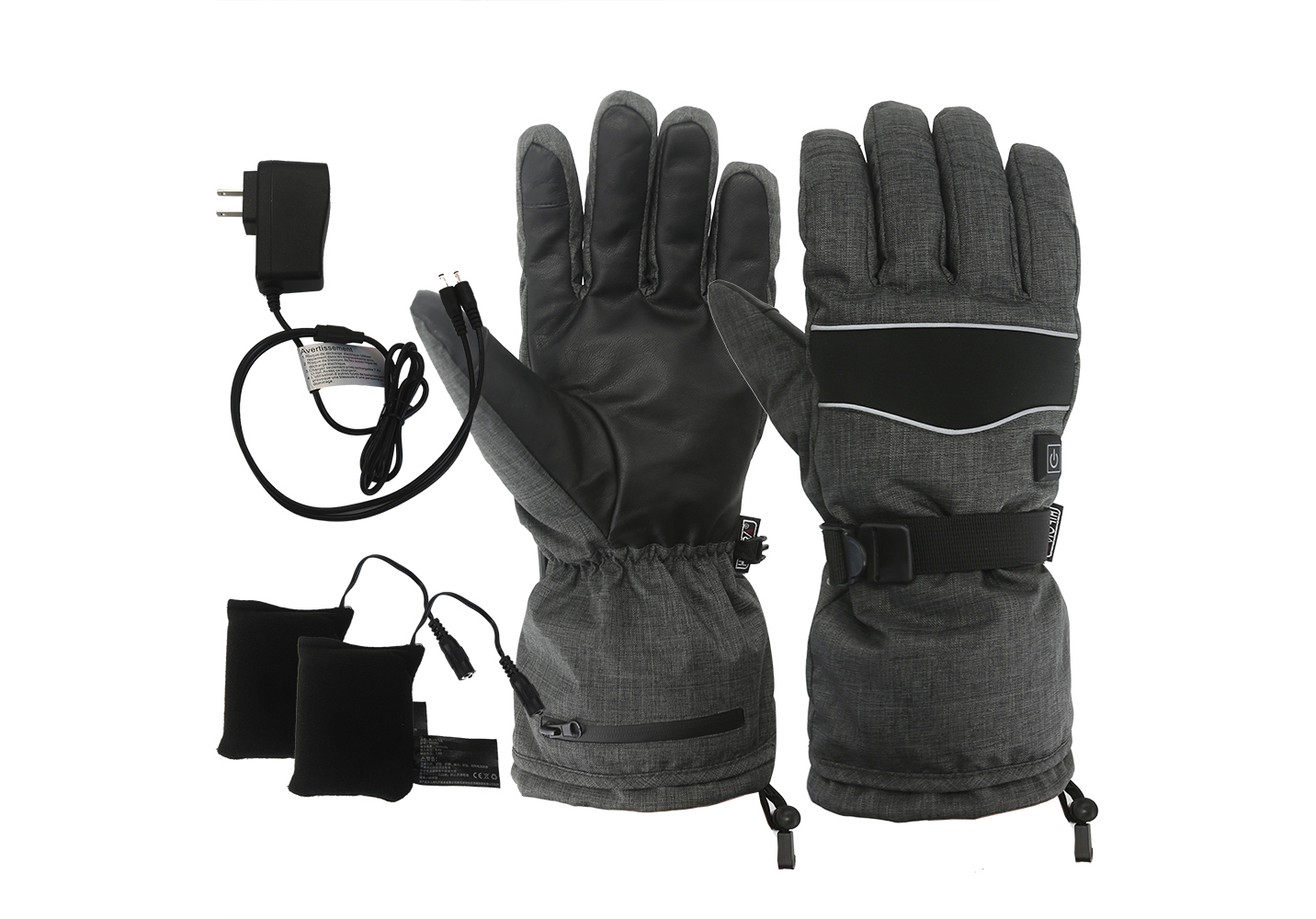Electric Heated Gloves with Rechargeable Battery Temperature Control/EHG-002