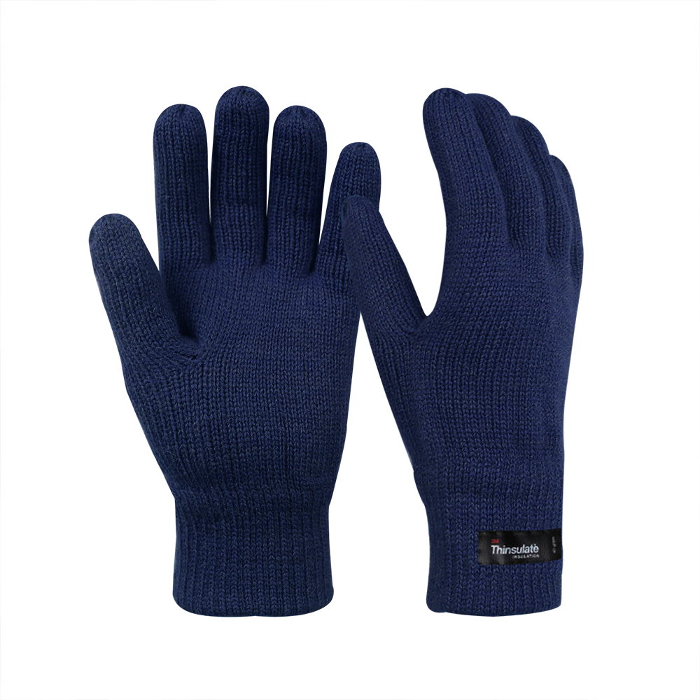 Wool/Acrylic Double Knit Gloves with 3M Thinsulate Lining/IWG-013-U