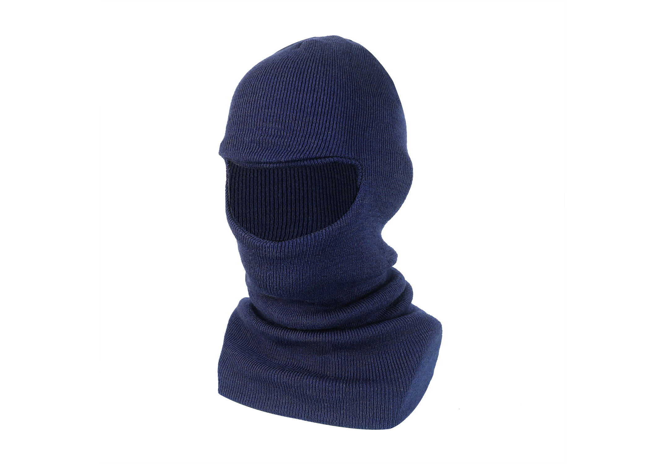 Single Layer Wool/Acrylic Balaclava/WKH-07-N