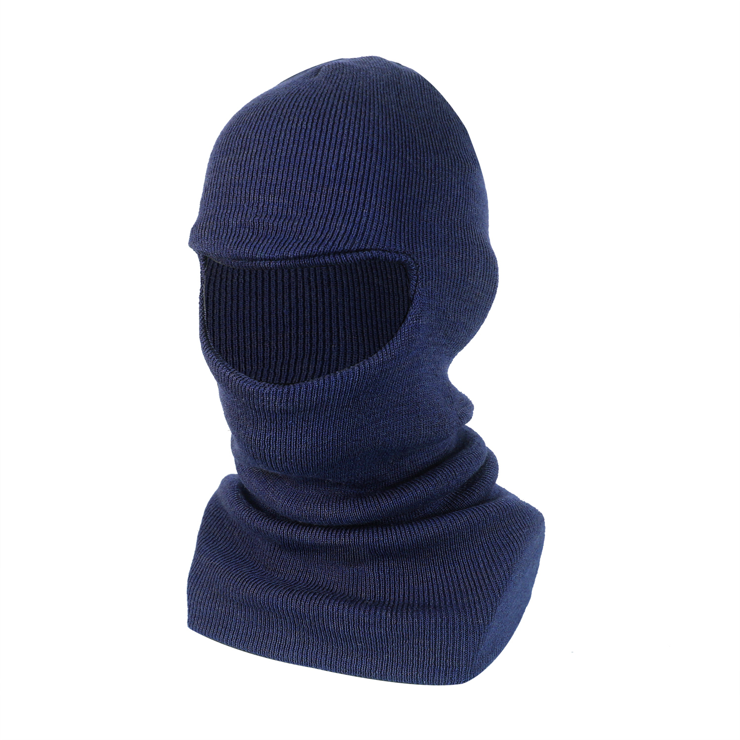 Single Layer Wool/Acrylic Balaclava/WKH-014-N