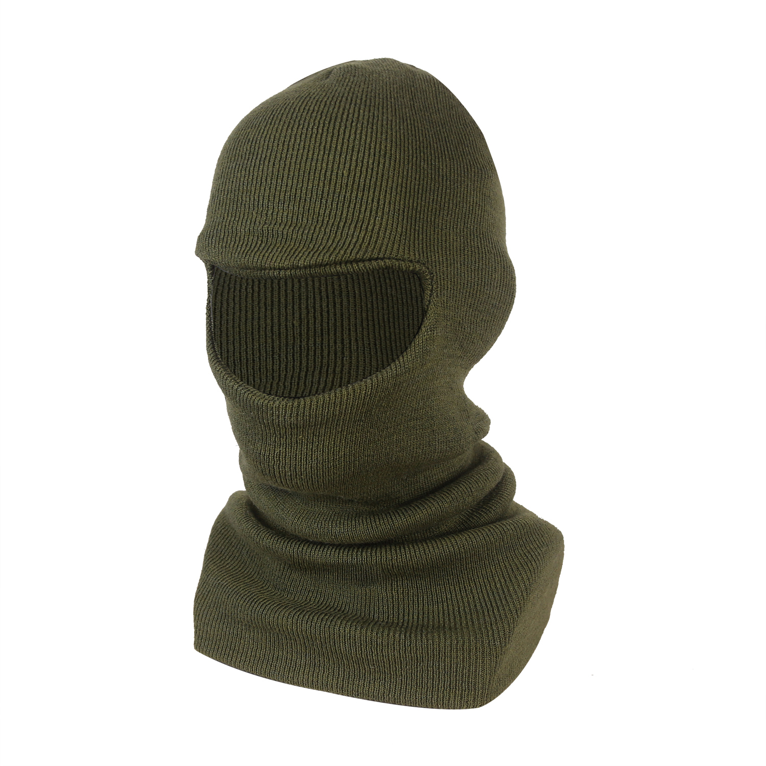 Single Layer Wool/Acrylic Balaclava/WKH-07-O