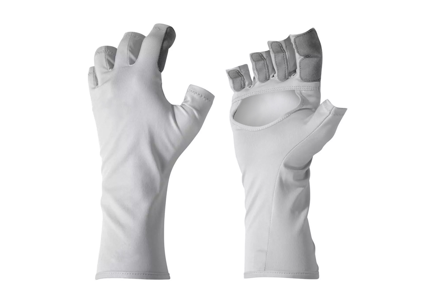 Fingerless Nylon Gloves/IWG-017-W