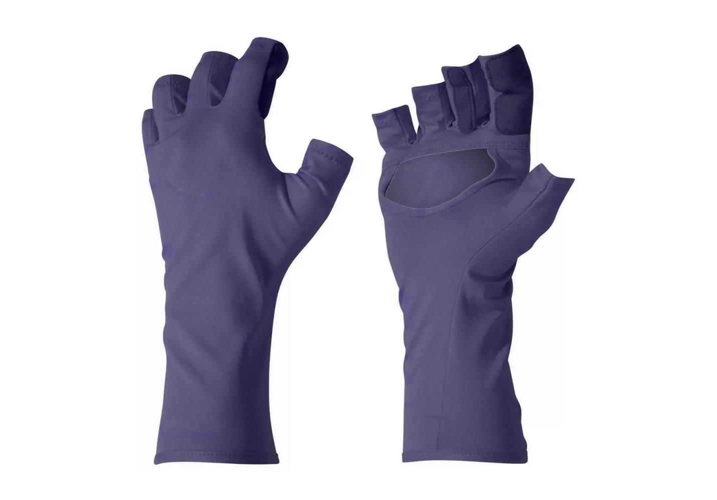Fingerless Nylon Gloves/IWG-017-P