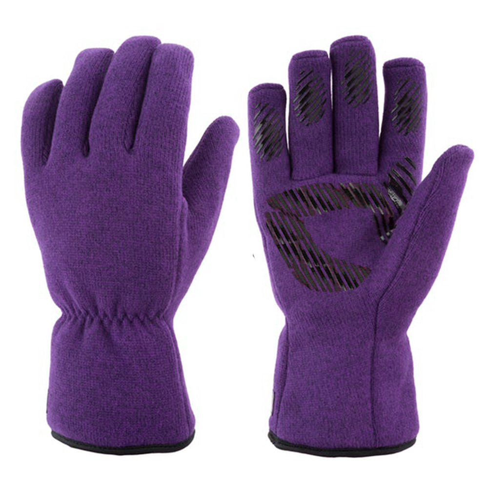 Polyester Fleece Glove with Microfleece lining/IWG-026