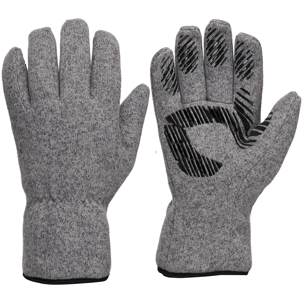 Polyester Fleece Glove with Microfleece lining/IWG-028