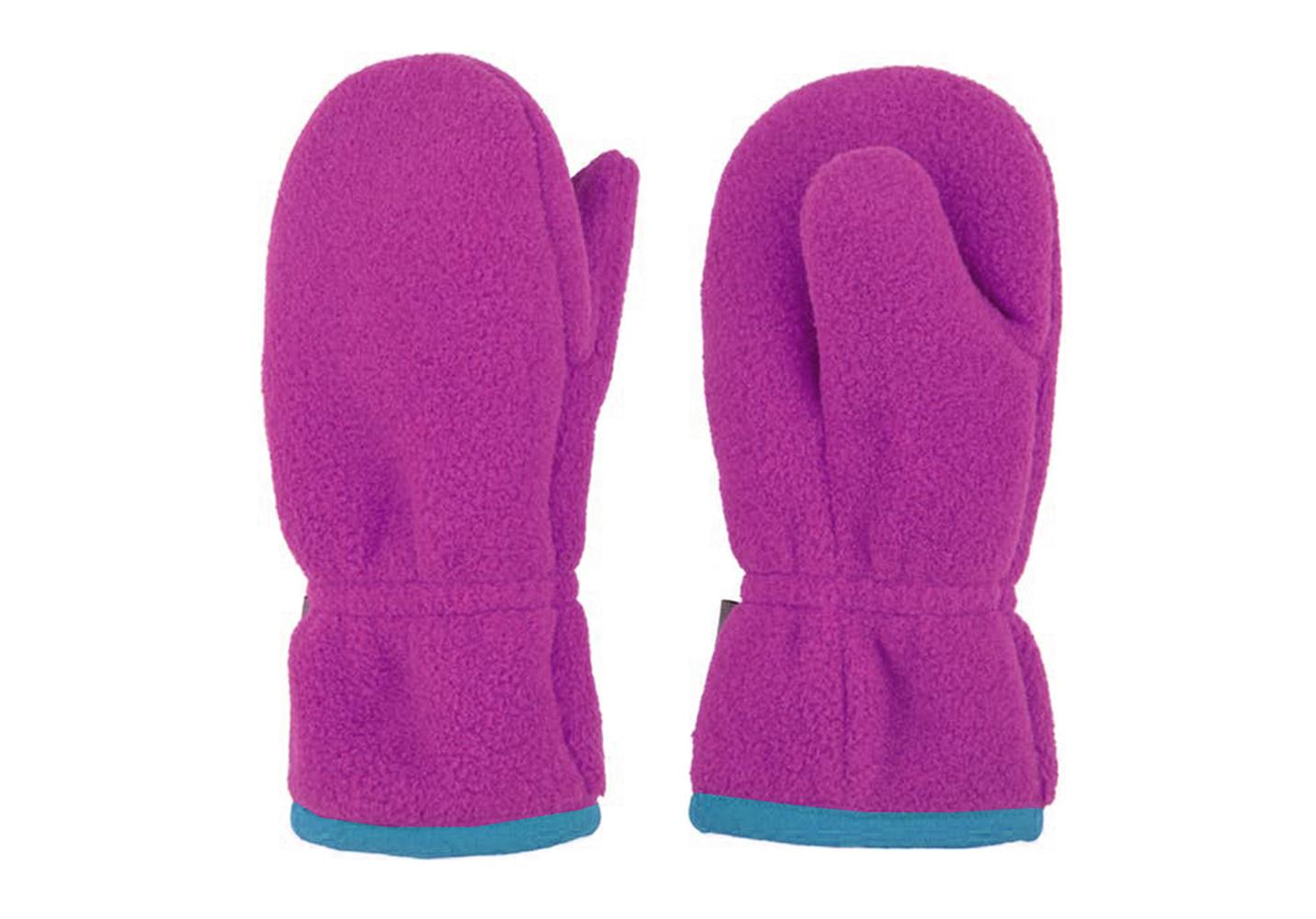 Polyester Fleece Glove with Microfleece lining-IWG-029
