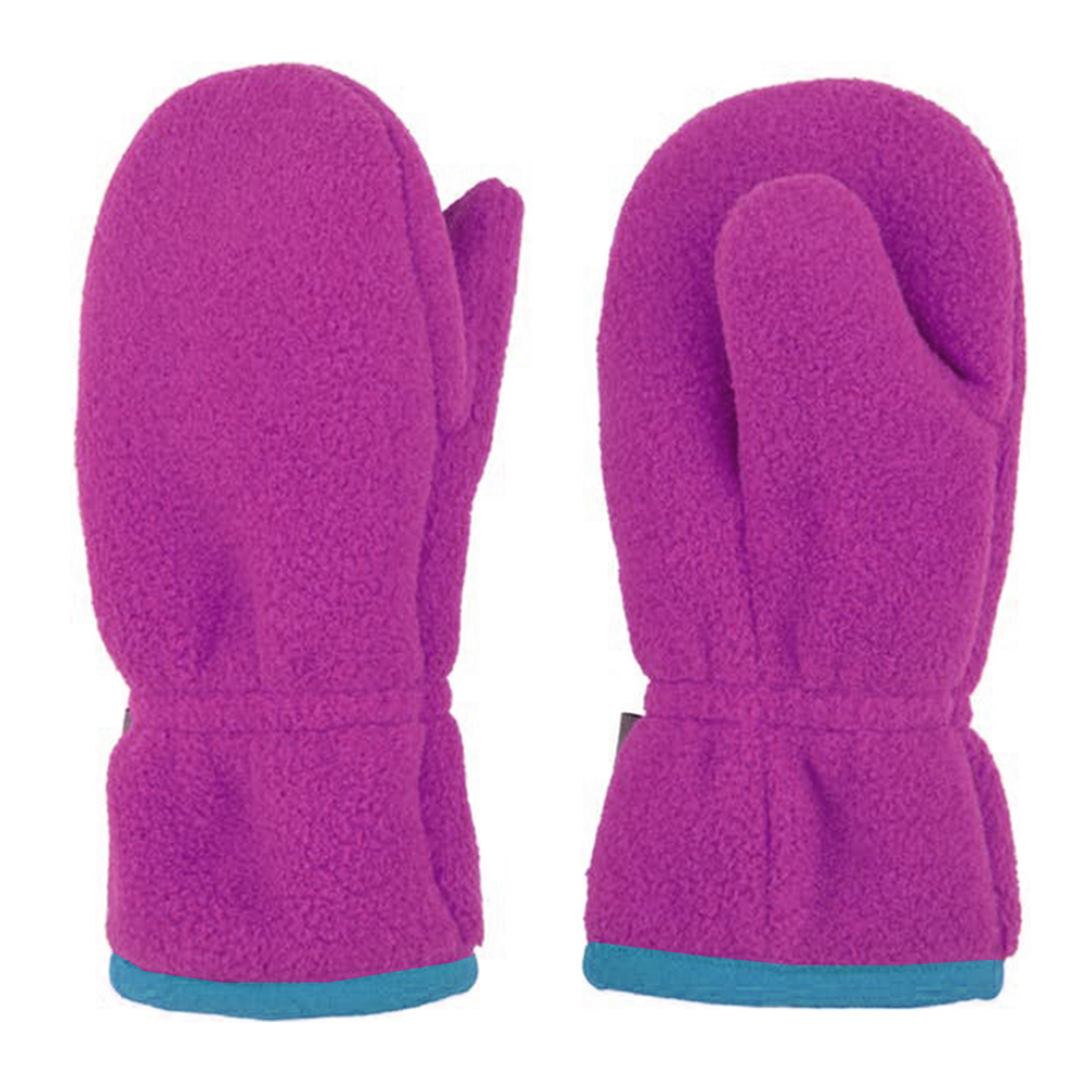 Polyester Fleece Glove with Microfleece lining-IWG-029