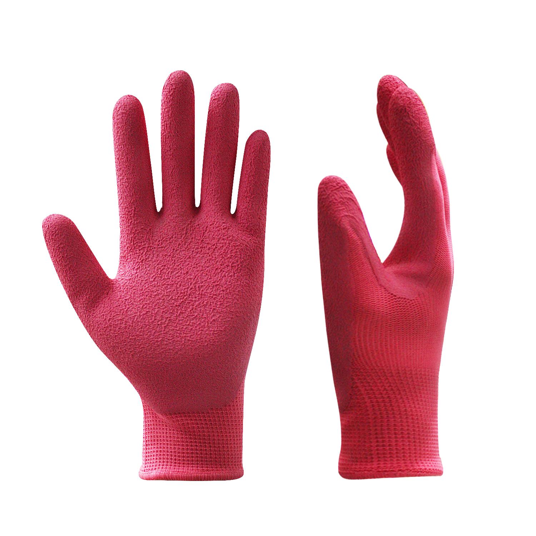 Latex Coated Nylon Gloves/LCG-004