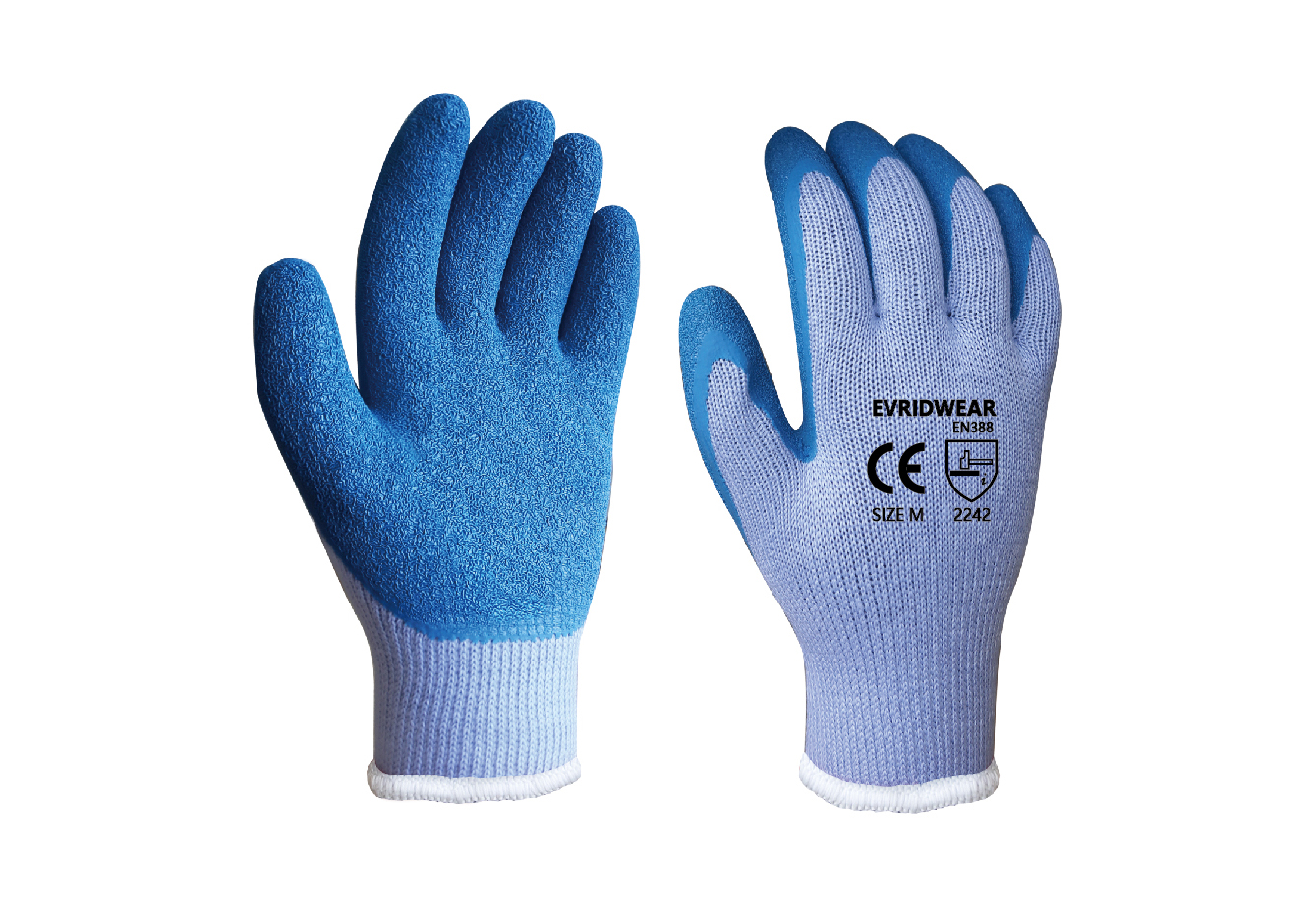 Latex Coated String Knit Safety Work Gloves/LCG-014