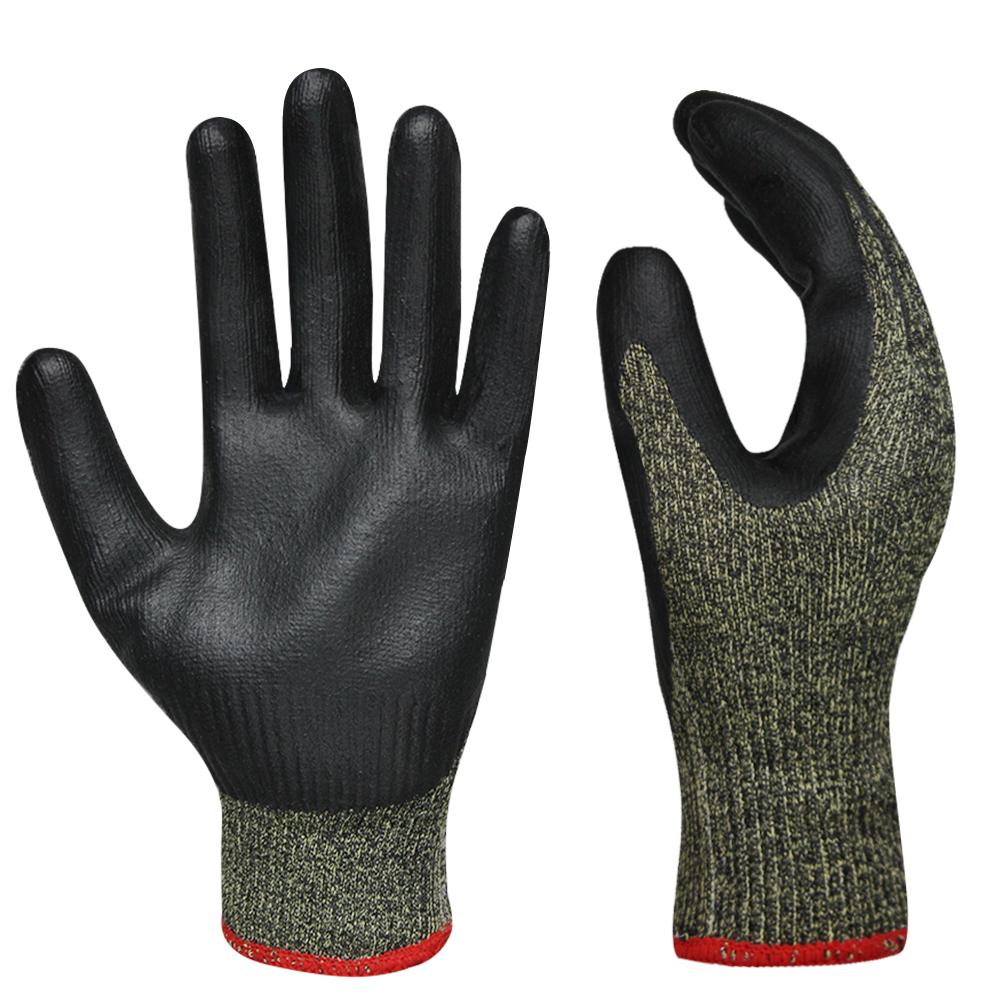 Nitrile Coated Kevlar Gloves/NCG-035