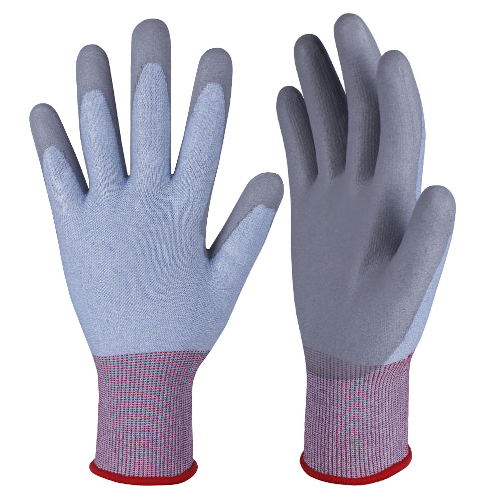 PU Dipped Cut Resistant Gloves/PCG-010