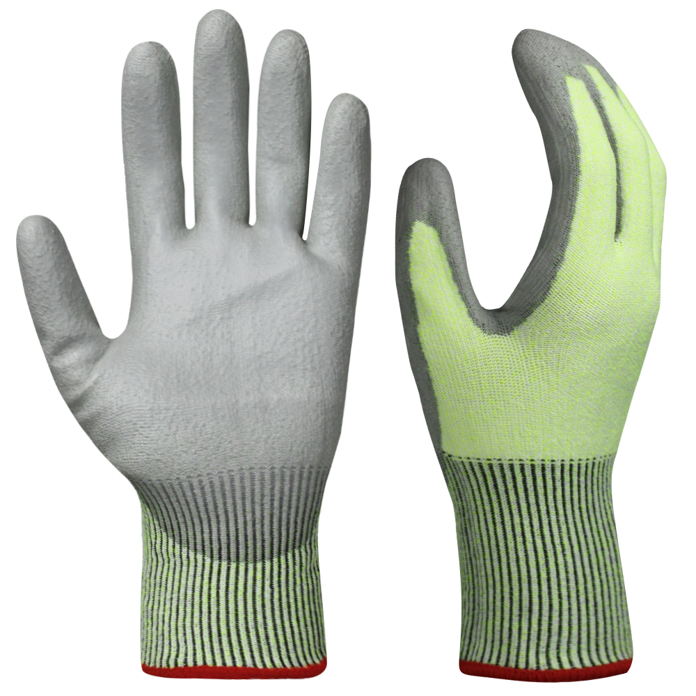 PU Dipped Cut Resistant Gloves/PCG-012
