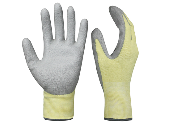 PU Dipped Cut Resistant Gloves/PCG-014