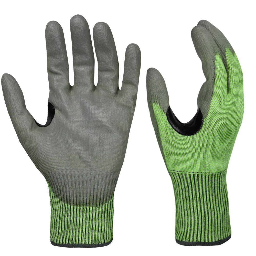 PU Dipped Cut Resistant Gloves/PCG-015