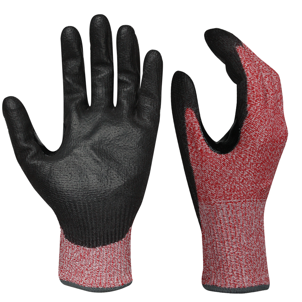 PU Dipped Cut Resistant Gloves/PCG-016