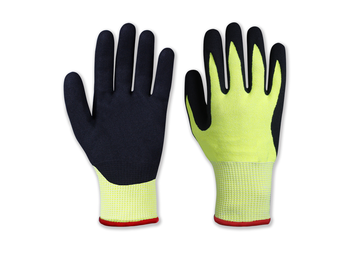 Double Layer Nitrile Coated Safety Work Gloves/NCG-042
