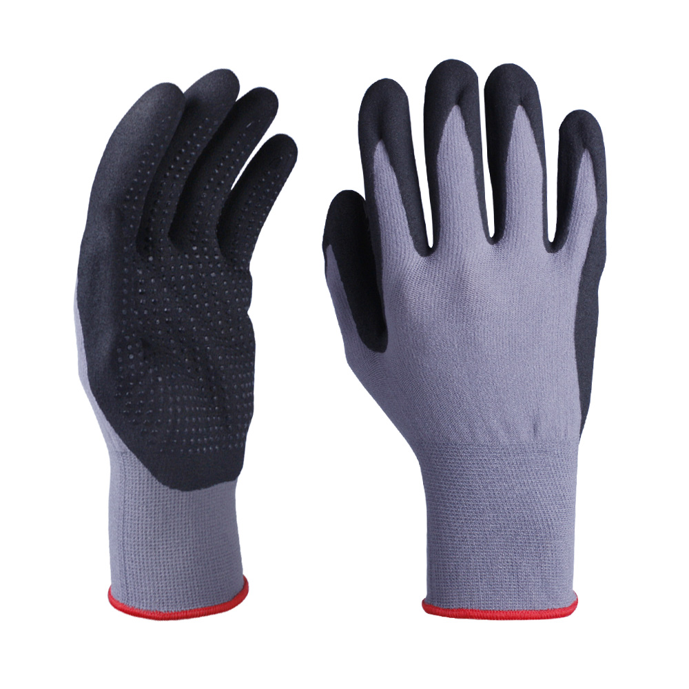Nitrile Coated Safety Work Gloves/NCG-043