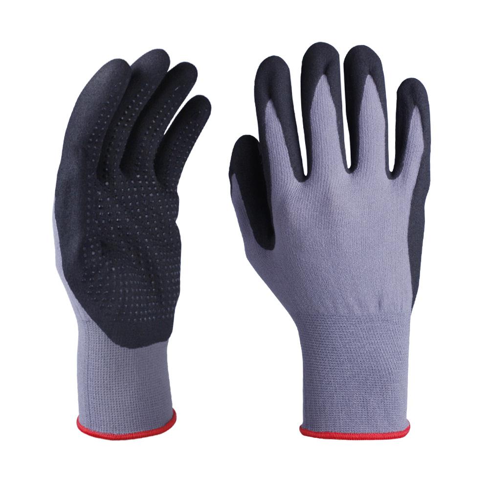 Nitrile Coated Safety Work Gloves/NCG-043