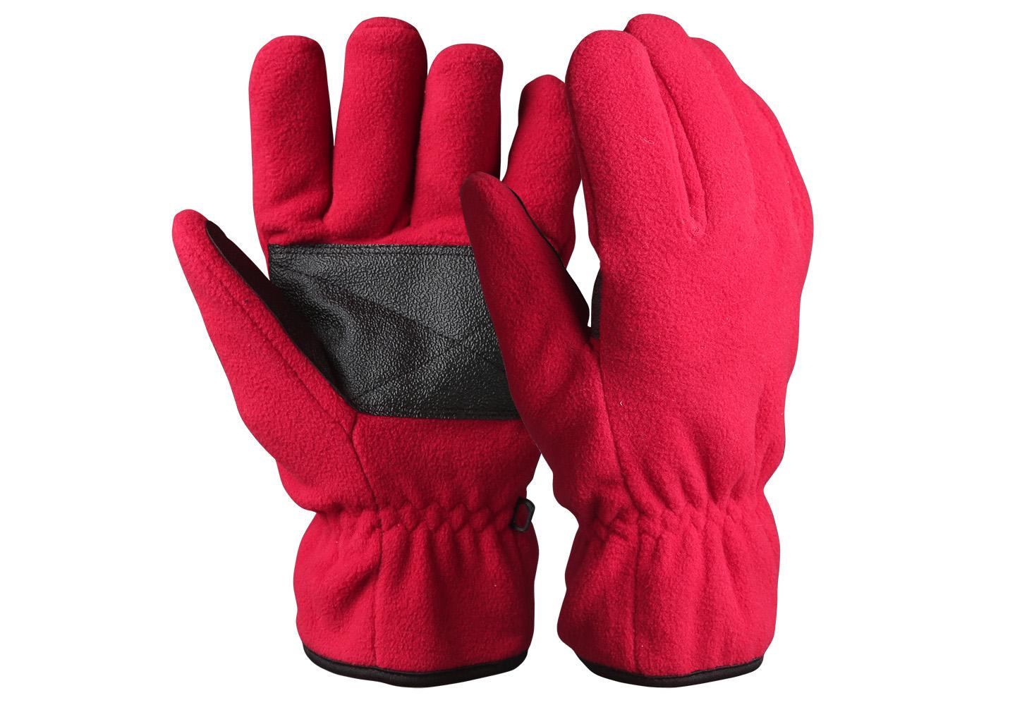 Full Finger Fleece Safety Work Gloves/WKR-001-R