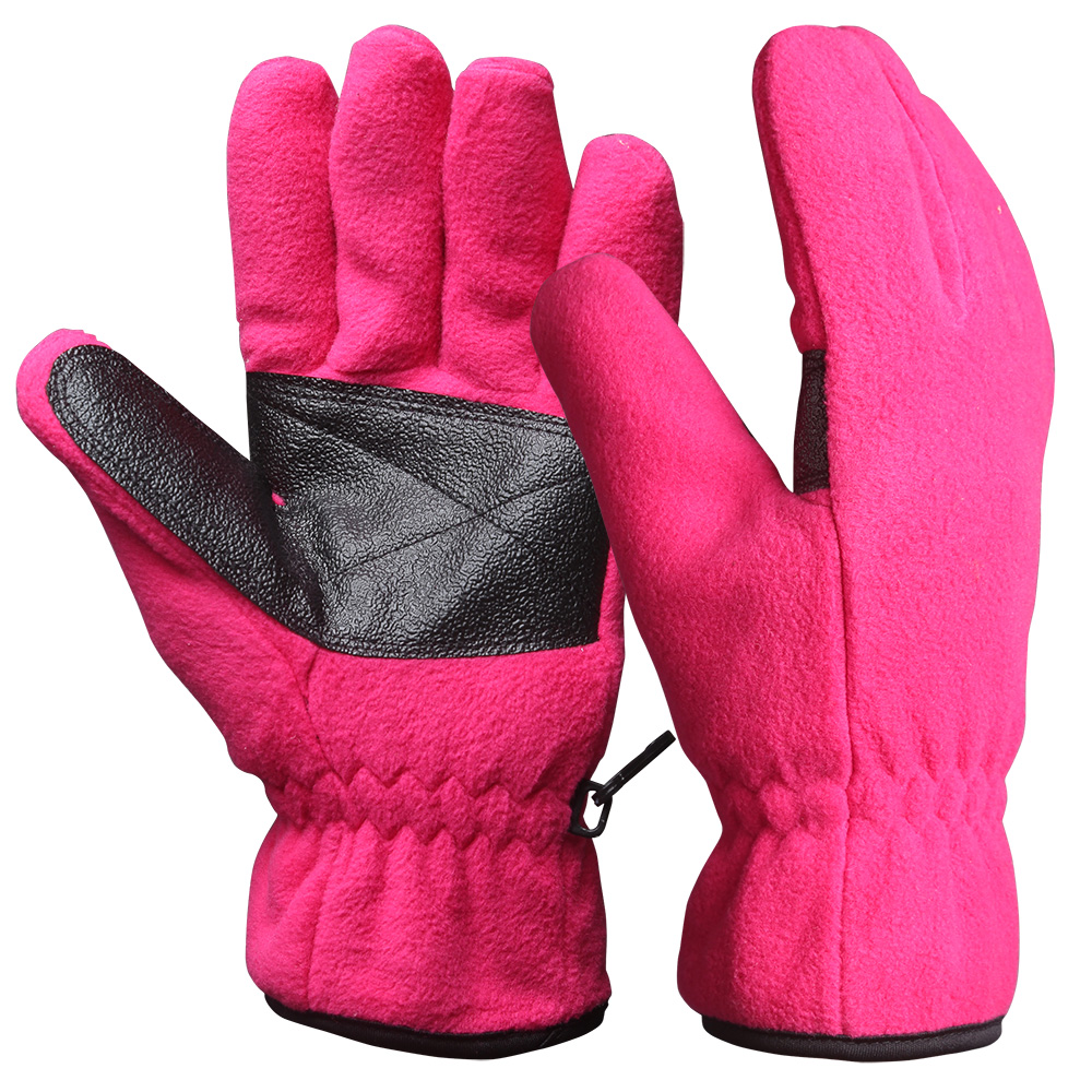 Full Finger Fleece Safety Work Gloves/WKR-001-P