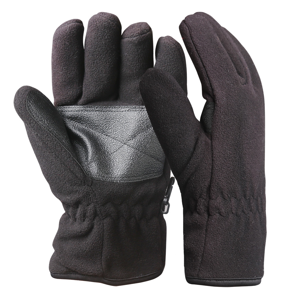 Full Finger Fleece Safety Work Gloves/WKR-001-B