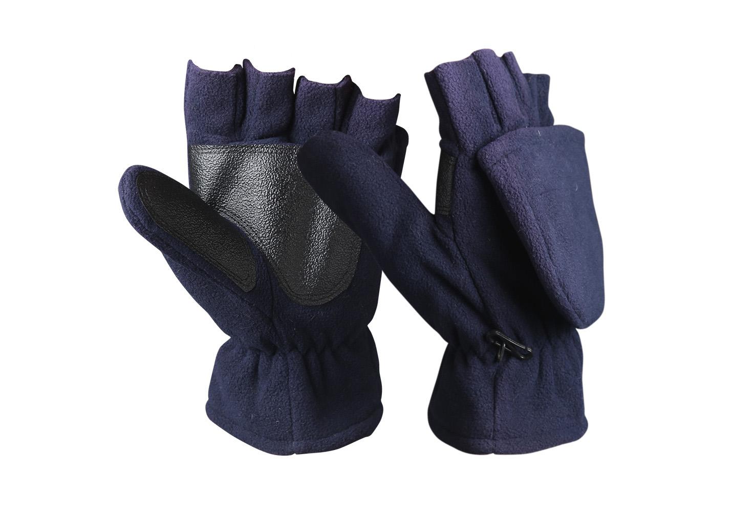 Fingerless Micro Fleece Gloves/WKR-004-N
